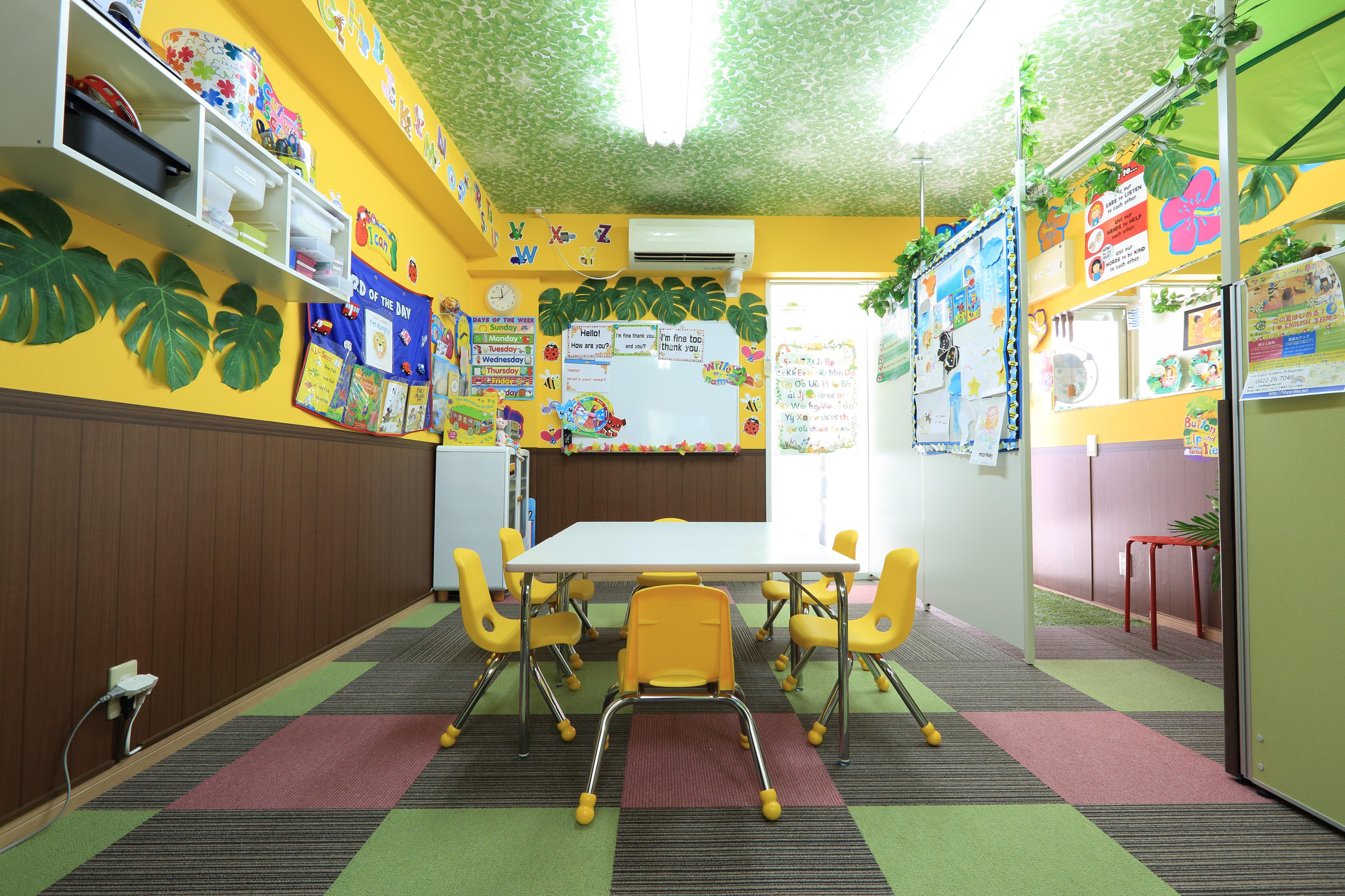 ハワイアンな教室1